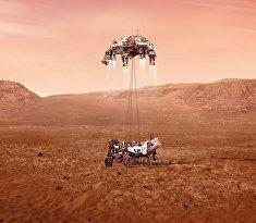 Посадка марсохода NASA на Марс. Прямая трансляция