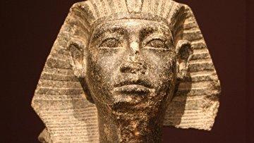Голова сфинкса с лицом Сенусерта III