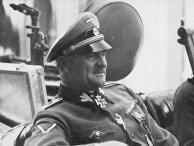 Немецкий военачальник Зепп Дитрих