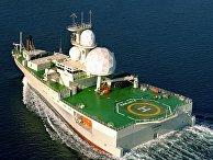 """Разведывательный корабль ВМС Норвегии """"Марьята"""""""