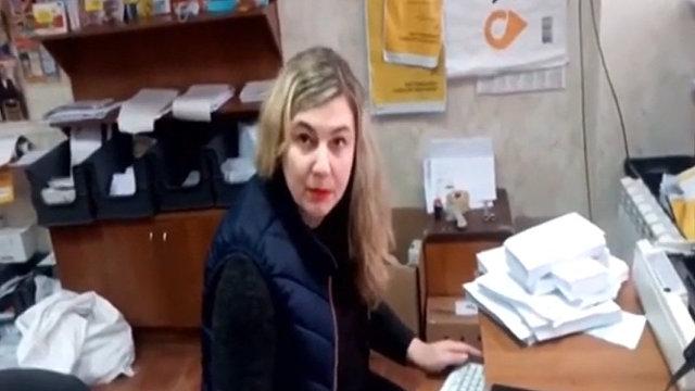 Я разговариваю, как мне удобно,  сотрудница Укрпочты в 95 квартале Кривого Рога отказалась обслужить клиента на украинском языке (Цензор.нет, Украина