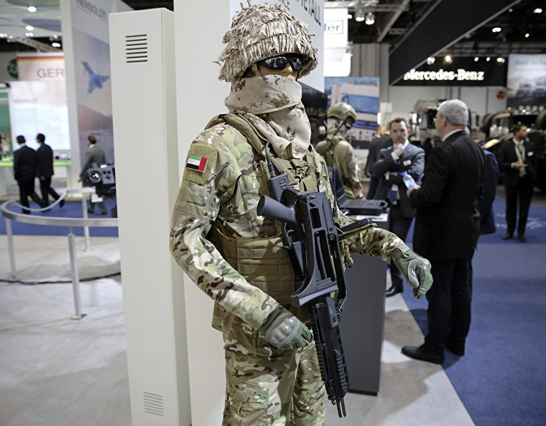 Международная выставка вооружения IDEX 2017 в Абу-Даби
