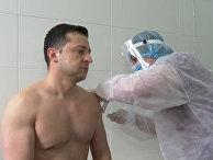 Владимир Зеленский поделился впечатлениями после вакцинации от COVID-19