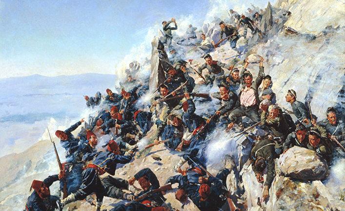 Защита «Орлиного гнезда» орловцами и брянцами 12 августа 1877 года