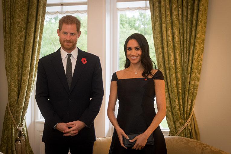 Принц Гарри и Меган, герцогиня Сассекская