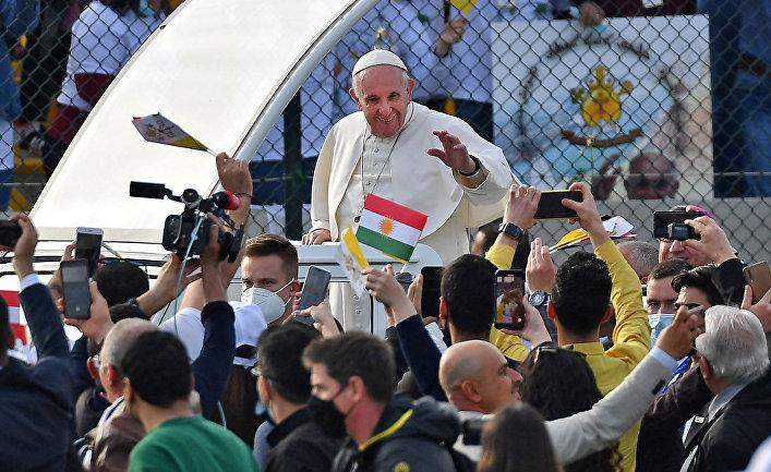 Папа Римский Франциск в Арбиле, Ирак