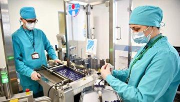 Производство вакцины «СпутникV»