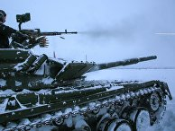 Учение мотострелковой бригады Северного флота в Мурманской области