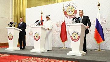 Визит главы МИД РФ С.Лаврова в Катар