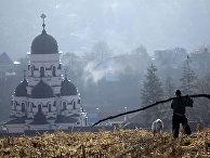 Каприянский монастырь в Молдавии