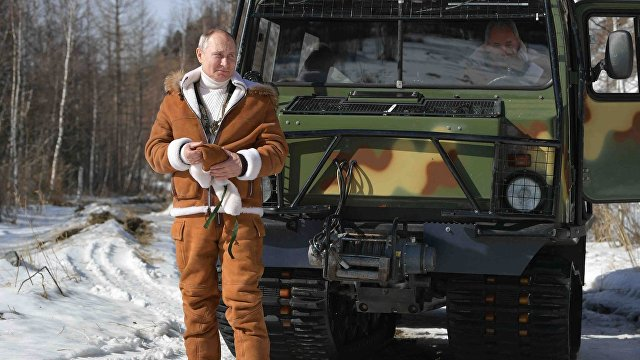Путин и его новые фотографии с отдыха: Это не случайность (VG, Норвегия)