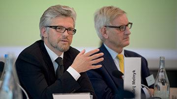 Украинский дипломат Андрей Мельник