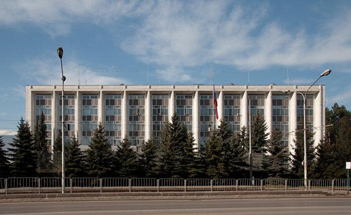 Здание посольства РФ в Софии, Болгария
