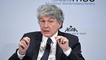 Еврокомиссар по вопросам внутреннего рынка Тьерри Бретон на Мюнхенской конференции по безопасности