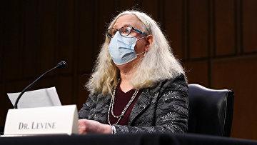 Рейчел Левин, помощник министра здравоохранения, первая трансперсона в правительстве США