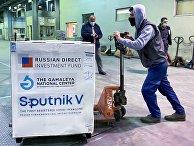 Первая партия вакцины Sputnik V прибыла в Ливан
