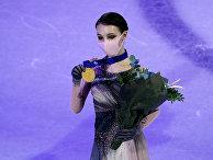 Анна Щербакова на церемонии награждения