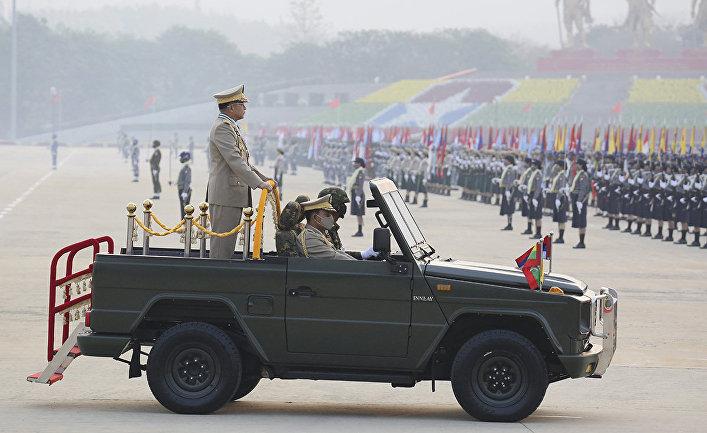 Старший генерал мьянманской армии Мин Аун Хлайн
