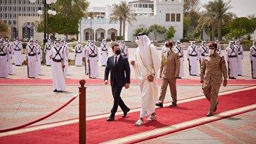 Официальный визит президента Украины Владимира Зеленского в Катар