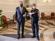 Визит главы МИД РФ С. Лаврова в Индию