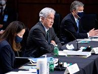 Директор ЦРУ Уильям Бернс во время слушаний Сенатского комитета на Капитолийском холме в Вашингтоне