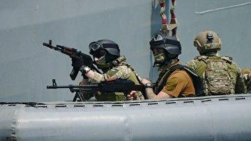 Международные учения Sea Breeze в Одессе