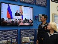 Ежегодное послание президента Владимира Путина Федеральному собранию