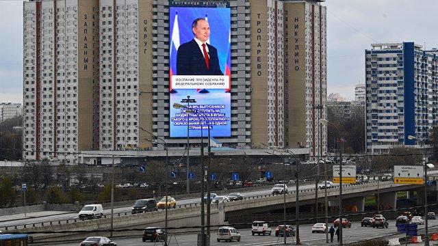 Daily Mail (Великобритания): Путин предостерег соперников не переходить красную черту и обвинил Запад, что тот цепляет Россию - при этом 120 тысяч ег