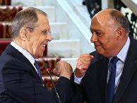 Визит главы МИД РФ С. Лаврова в Египет