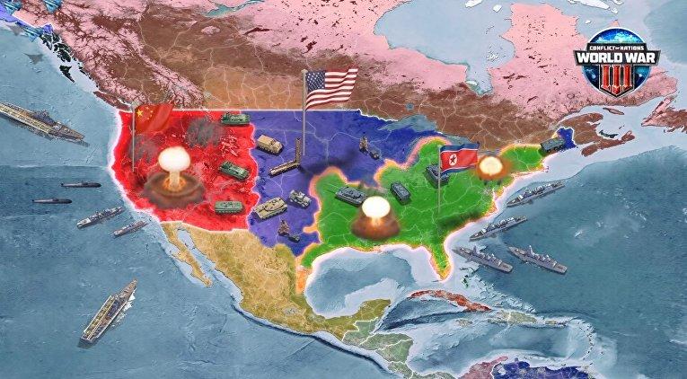 Полномасштабная ядерная война Китая и США