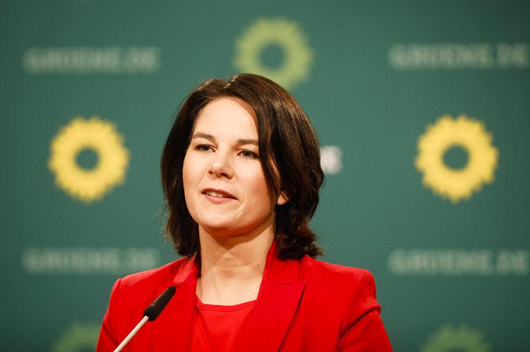 Анналена Бербок, партия Зеленых