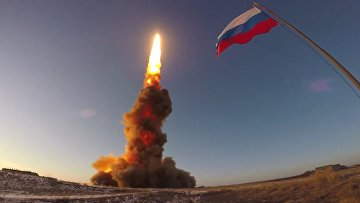 Испытания новой ракеты системы ПРО