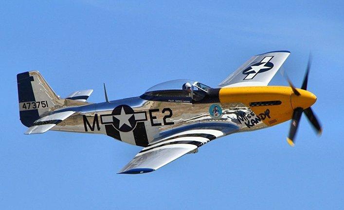 P-51 Mustang, американский истребитель периода Второй мировой войны