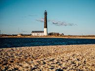 Маяк на острове Сааремаа, Эстония