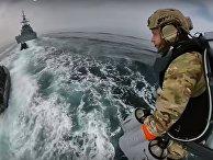 Британские морпехи испытали реактивный ранец