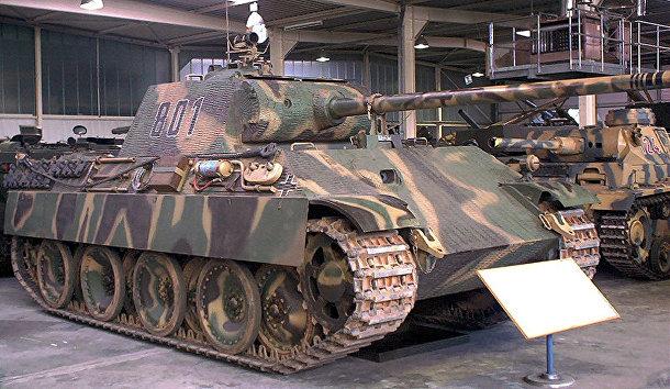 «Пантера», немецкий танк периода Второй мировой войны