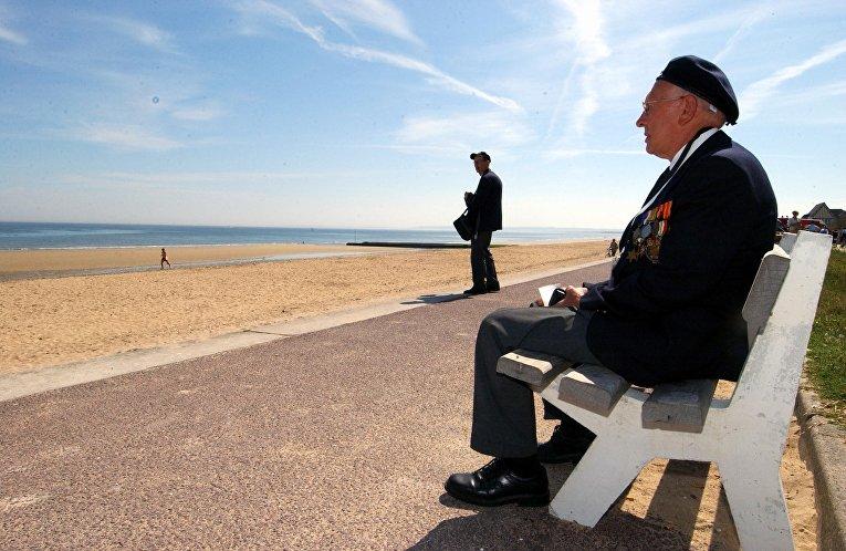 Норвежский ветеран Второй мировой войны