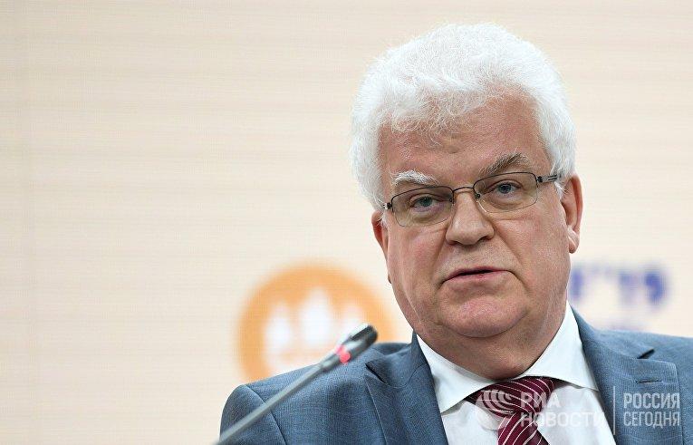 Чрезвычайный и полномочный посол, постоянный представитель РФ при Европейском союзе Владимир Чижов
