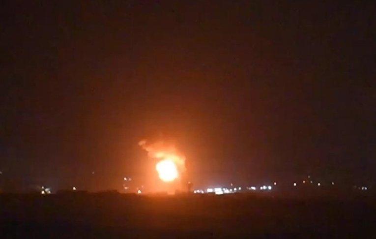 ЦАХАЛ опубликовал видео бомбардировки Газы
