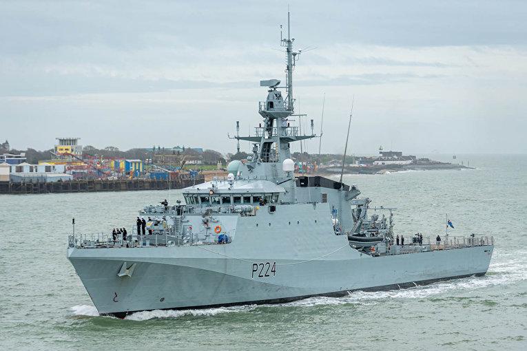 Британский патрульный корабль Trent (HMS Trent)