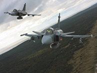 Истребители JAS 39 «Грипен» ВВС Чехии