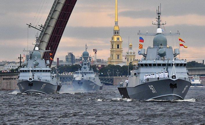 Генеральная репетиция парада в честь Дня ВМФ в городах России