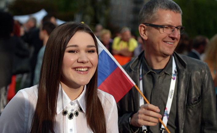 Участница конкурса от России Дина Гарипова