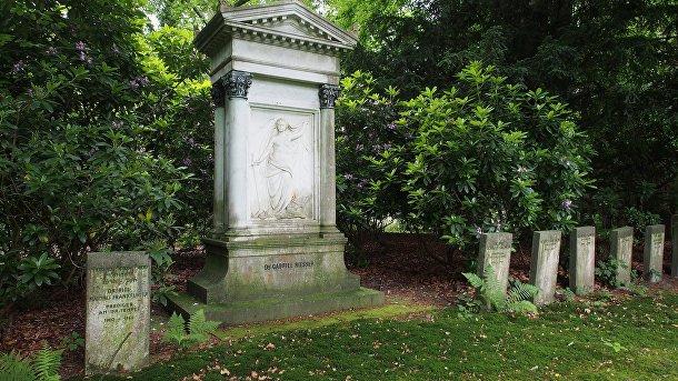 Ольсдорфское кладбище, Гамбург