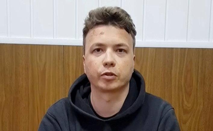 Белорусский блогер Роман Протасевич