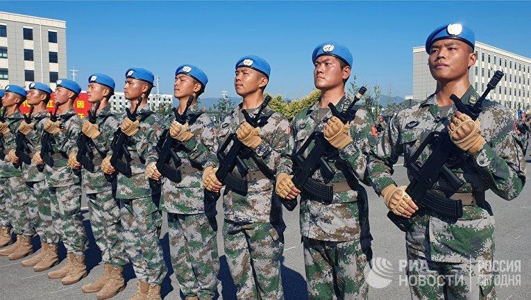 Репетиция парада в честь 70-летия образования КНР