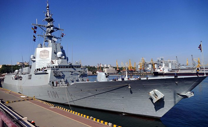 Эскадра НАТО в составе пяти кораблей зашла в Одессу в 2020 году