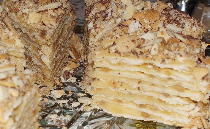 "Домашний торт ""Наполеон"""