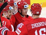 Хоккей. Чемпионат мира. Матч Россия - Дания