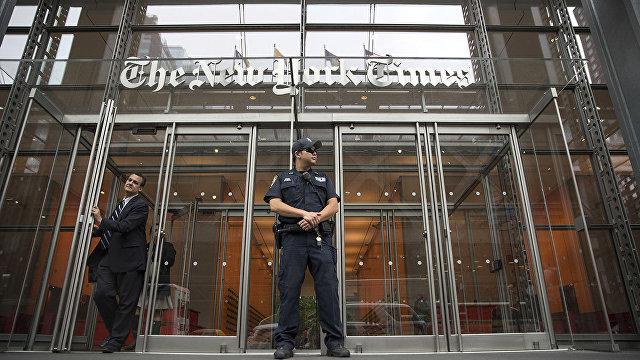 The New York Times (США): администрация Трампа тайно получила доступ к записям телефонных разговоров журналистов NYT
